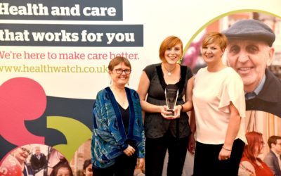 National award recognises our work with young people